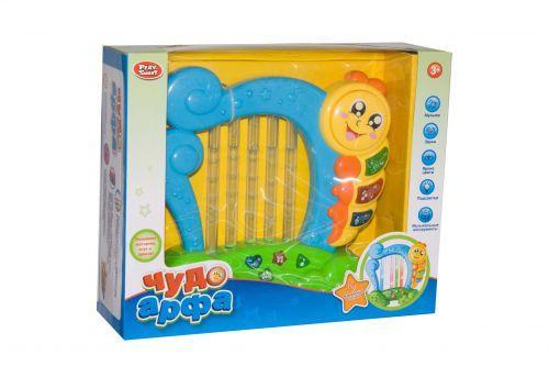 Чудо Арфа детская игрушка (голубая)