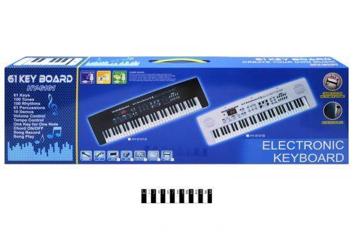 Пианино детское с микрофоном и зарядкой