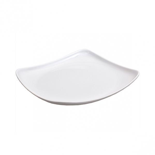 Меламиновая тарелка 4-х угольная  19×19 см