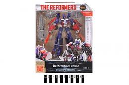"Робот-трансформер Оптимус Прайм из серии ""The Reformers"" (синий)"