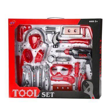 Набор инструментов игрушечных с каской