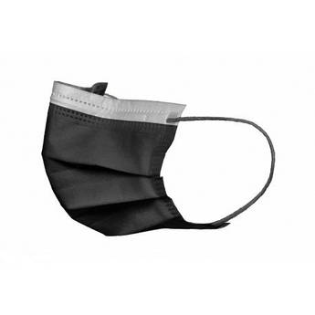 Маски   Akzenta BLACK SERIES (черные) 50 шт