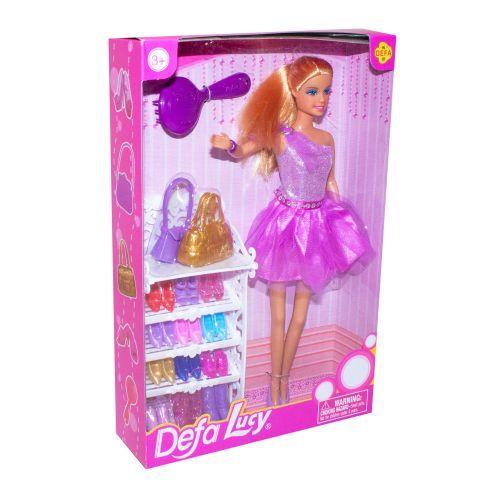 """Кукла Барби """"Defa Lucy"""" с набором обуви"""