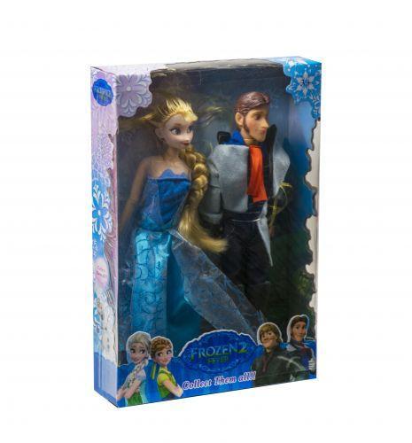 """Кукла """"Холодное сердце: Эльза и Ханс"""""""