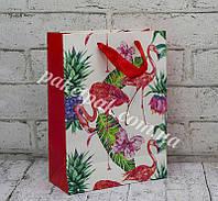 Пакет бумажный подарочный микс (уп-12 шт), фото 1