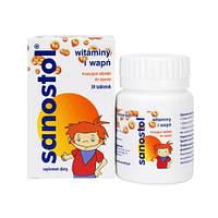 Витамины для детей  Sanostol 30 шт