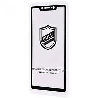 Защитное стекло Full Glue HQ на Xiaomi Mi A2 (черное)