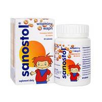 Витамины  для детей  Sanostol 60 шт