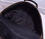 Рюкзак Луї Вітон канва Monogram, великий, шкіряна репліка, фото 4