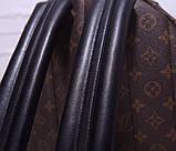 Рюкзак Луї Вітон канва Monogram, великий, шкіряна репліка, фото 7
