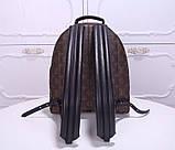 Рюкзак Луї Вітон канва Monogram, великий, шкіряна репліка, фото 6