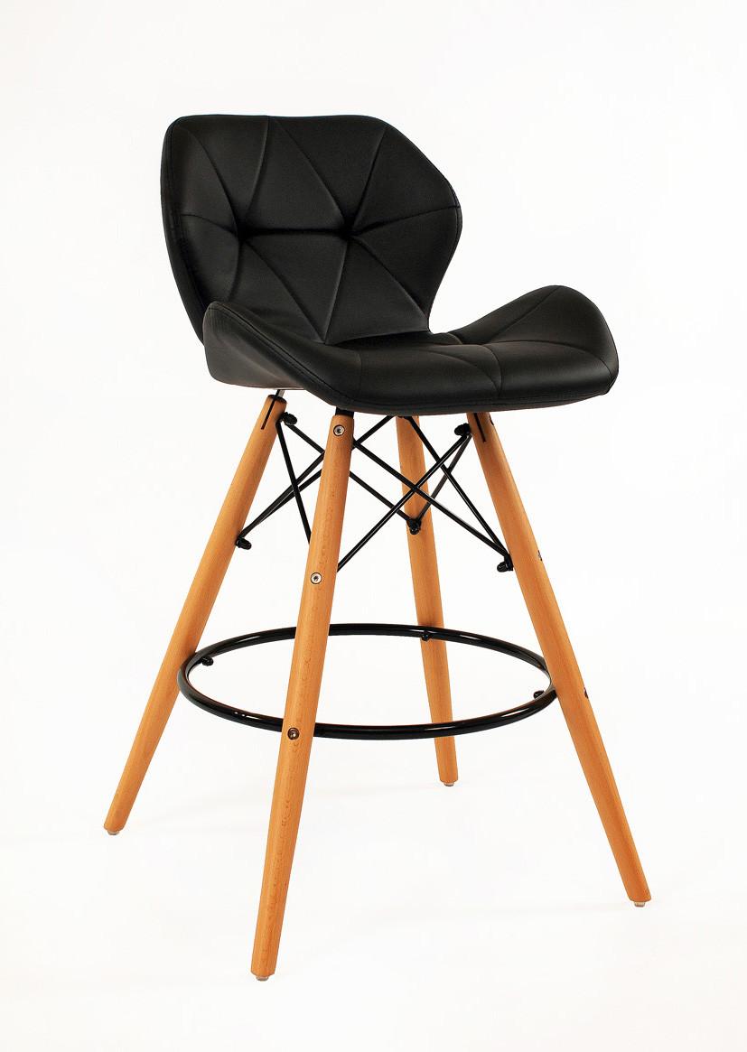 Барный стул Invar, черный