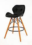Барный стул Invar, черный, фото 2