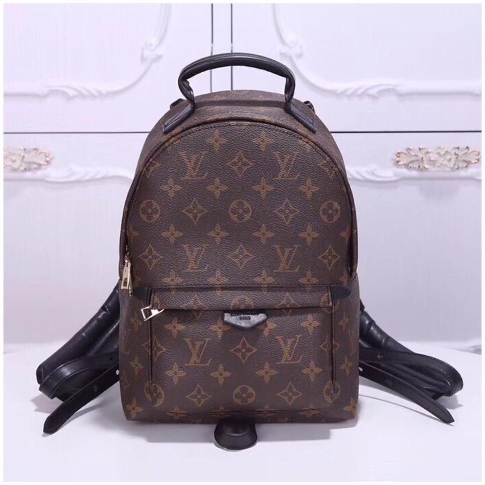 54a8e349fe6a Рюкзак Луи Витон, Louis Vuitton канва Monogram, медиум, кожаная реплика