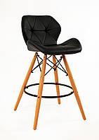 Полубарный стул Invar, черный