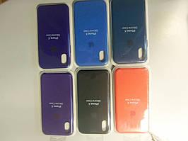 Чохол силікон кейс Silicone Case для Iphone X