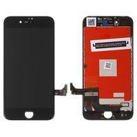 Дисплей  iPhone 8, черный, с сенсорным экраном, с рамкой, High Copy, Kingwo