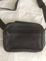 Мужская сумка на плечо модная деловая