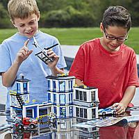 Конструктор Lego City Police Station 60141 Building Kit with Cop Car Полицейский участок 60141, фото 1