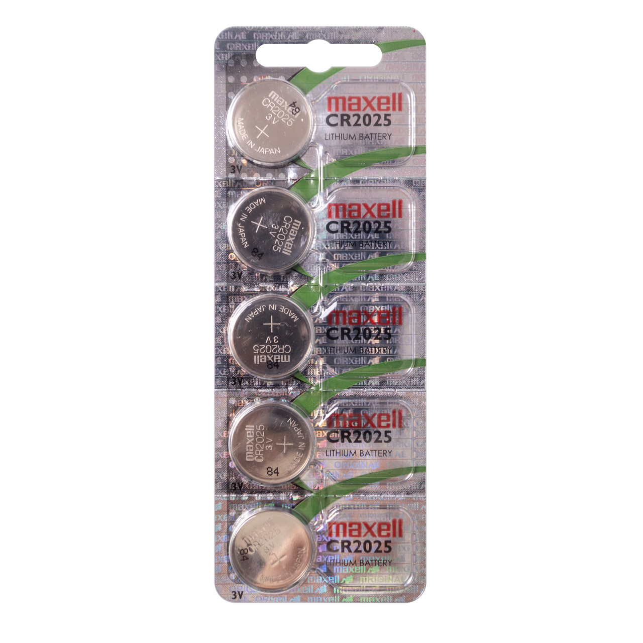 Батарейка Maxell CR2025 5PK ( 5*1) CARD