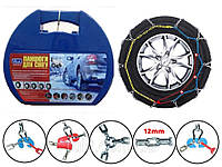 Автомобильные цепи противоскольжения для легковых автомобилей KN 100 на колеса r14, r15, r16, r390