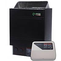 Электрокаменка для сауны и бани EcoFlameAMC 60-D 6 кВт + пульт CON4, фото 1