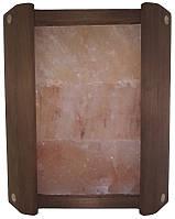 Ограждение угловое Greus ТЕРМО с гималайской солью 3 плитки для бани и сауны