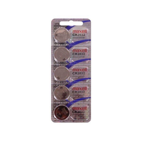 Батарейка Maxell CR2032 5PK (5*1) CARD