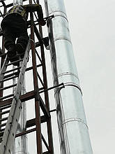 Монтаж Нашего Дымохода под ключ