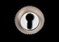Накладка дверная под цилиндр E9 SN/CP