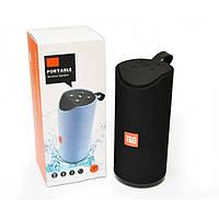 Колонка на телефон JBL-113 Чёрная влагостойкая (Реплика)