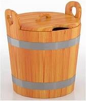 Запарник 22 л лиственница для бани и сауны, фото 1