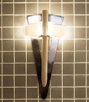 Светильник Факел TL 100 с деревянным стержнем Cariitti для бани и сауны