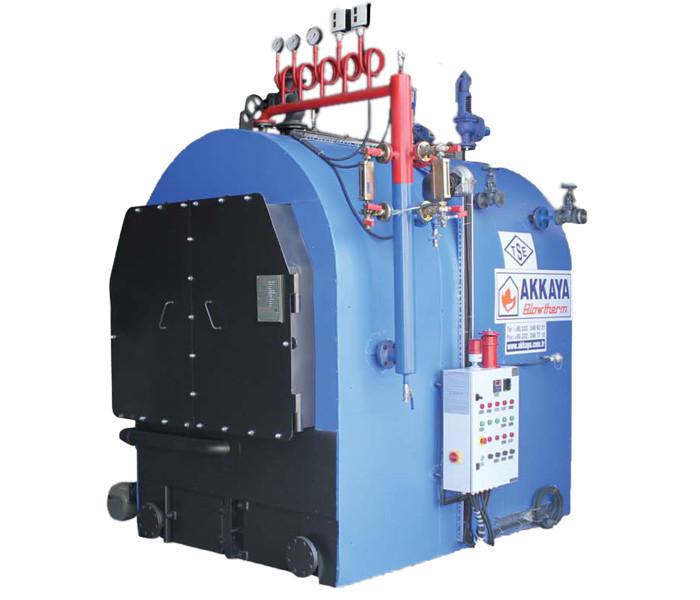Паровой котел Akkaya YSB 50-8 (1000 кг/час, 8 бар)
