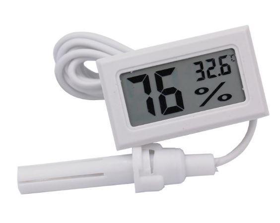 Цифровой термометр-гигрометр FY-12 с выносным датчиком 1.5м