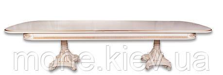 """Обеденный кухонный стол (300+50/110/75 см)"""" Марсель-350"""", фото 2"""