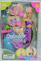 Кукла Русалочка, с аксессуарами, в коробке 32*20*6 см.