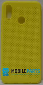 Оригинальный Силиконовый Чехол для Huawei P Smart Plus (Основа для вышивания) (Желтый)