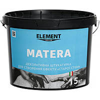 Декоративная штукатурка MATERA ELEMENT DECOR 15 кг