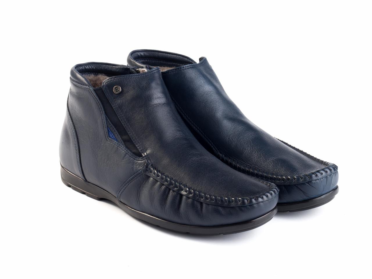 Ботинки Etor 14668-7383-578 40 синие