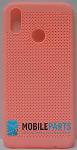 Оригинальный Силиконовый Чехол для Huawei P Smart Plus (Основа для вышивания) (Коралловый)