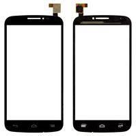 Сенсорный экран для мобильных телефонов Alcatel One Touch 7040 POP C7, One Touch 7041D POP C7, One Touch 7042, черный