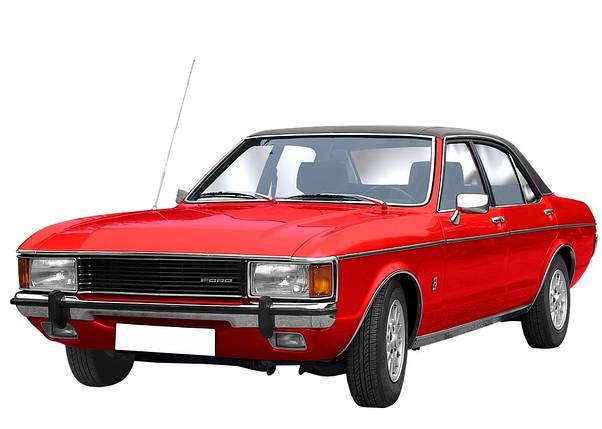 Лобовое стекло на Ford Granada/Consul (Седан, Комби) (1981-1985) , фото 2