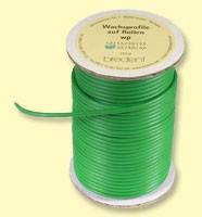 Восковая проволока wp на катушках жёсткий (зеленый) 250г.