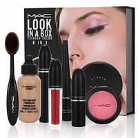Подарочный набор для женщин набор косметики Mac look 8 в 1