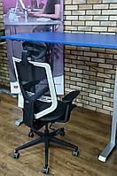 Tender Form TF-15M-OG комфортное офисное кресло с ультра тонким дизайном от GTCHAIR, серое