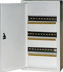 Шкаф металлический, под 36 модулей, навесной, с замком (Украина)