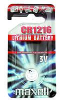 Батарейка Maxell CR1216