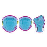 Комплект защитный Nils Extreme H106 Size XS Blue/Pink, фото 1