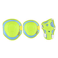 Комплект детский защитный Nils Extreme H106 Size S сине-зеленого цвета